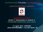 SERIE D - Federazione Italiana Pallacanestro