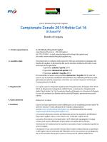 Campionato Zonale 2014 Hobie Cat 16