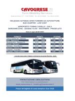 BUS CHARTER ORARIO DEFINITIVO 2015