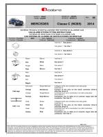 MERCEDES Classe C (W205) 2014