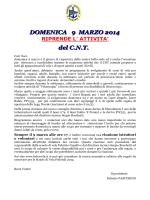 Ordine del giorno – direttivo del 9 novembre 2005