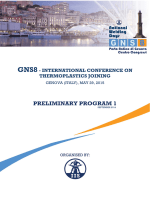 gns8 - international conference on thermoplastics - Formazione