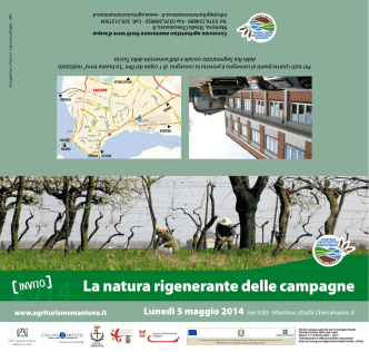 2014 La natura rigenerante delle campagne