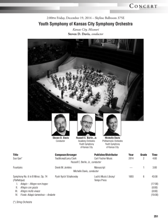 Concert Program - Midwest Clinic