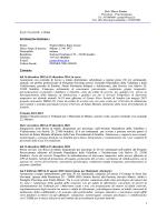 ponteri cv - Azienda Ospedaliera della Valtellina e della Valchiavenna