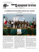 CAMPIONATO INTERNAZIONALE AICEB di Luca Pasqualetti