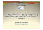 Relazione Prof.ssa Mandich - Istituto nazionale di biostrutture e