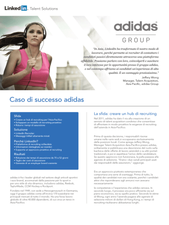 adidas Group - Business Solutions
