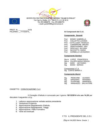 Consiglio di_Istituto 16-12-2014