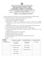 """CdI del 01 dicembre 2014 - Verbale n. 18 - IC """"Frezzotti"""