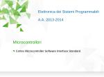 Cortex microcontroller software interface standard