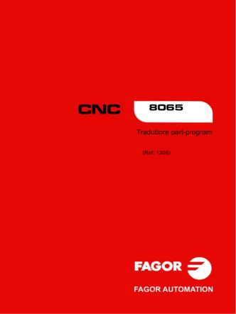 8065. Traduttore part-program.