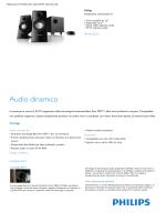 Altoparlanti multimediali 2.1, driver satellite da 2,5