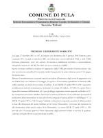 Piano TARI 2014 - Comune di Pula