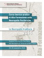 Corso di Alta Formazione sulle Neuropatie Periferiche