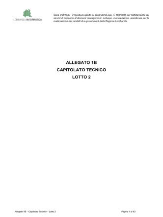allegato 1b capitolato tecnico lotto 2