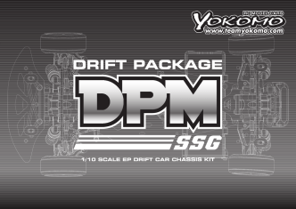 1/10 SCALE EP DRIFT CAR CHASSIS KIT