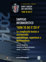 HOW TO DO IT 2014 - 6th international congress aortic surgery and