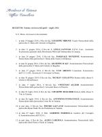 Nomine arcivescovili aprile - luglio 2014