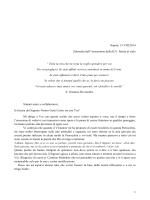 Lettera personale - Parrocchia Maria Immacolata della Medaglia