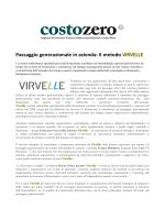 Passaggio generazionale in azienda: il metodo Virvelle – CostoZero