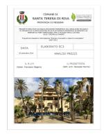 analisi prezzi - Comune di Santa Teresa di Riva