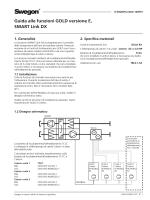 Guida alle funzioni GOLD versione E, SMART Link DX