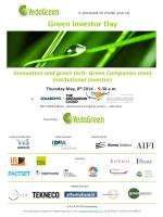Green Investor Day