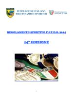Regolamento Sportivo 2014