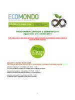 Programma di ECOMONDO 2014