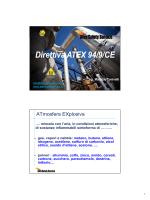 Direttiva ATEX 94/9/CE - Ordine degli Ingegneri della Provincia di