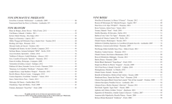 Wine list (pdf) - Pizzeria Mozza