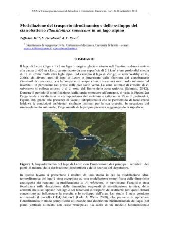 Abstract Template - Università degli Studi di Trento