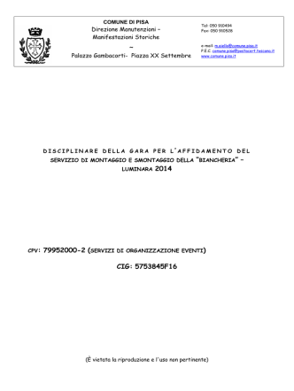 CPV: 79952000-2 ( CIG: 5753845F16