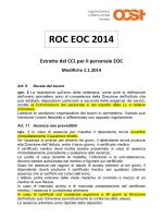 Volantino modifiche ROC EOC 2014