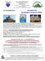 VIA DEGLI DEI (da Bologna a Firenze in MTB)