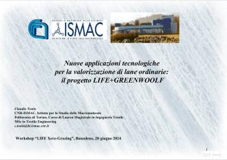 Azione E2- Presentazioni in pdf dei partecipanti al workshop