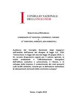 Documento depositato dal Consiglio nazionale ingegneri (CNI)