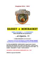 Info corsi 2014/2015 [pdf] - Pallacanestro Grugliasco