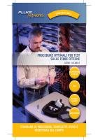 Procedure ottimali per i test delle fibre ottiche