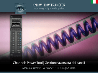 Applica Immagine - Know How Transfer