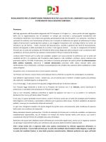 REGOLAMENTO PRIMARIE 2014 def