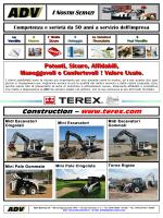 scarica il depliant macchine terex - ADV, macchine movimento terra