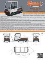 Trattore Elettrico TE 151 Capacità di traino 15000 kg Trattore