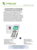 Termometro digitale a vari canali PCE-T390