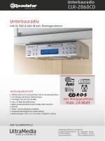 CLR-2860CD - produktinfo.conrad.com