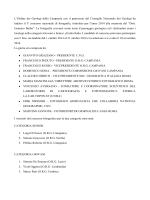 Premiazione - Ordine dei Geologi della Regione Umbria