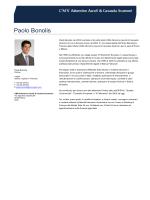 Curriculum Paolo Bonolis