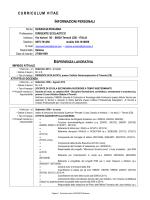 Curriculum vitae - istitutocomprensivotrivento.it