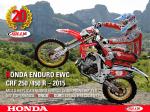 HONDA ENDURO EWC CRF 250 /450 R – 2015